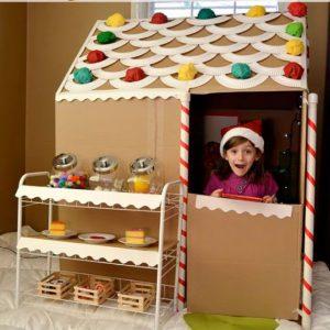 huge gingerbread house
