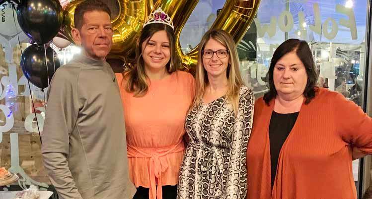 Christina's family