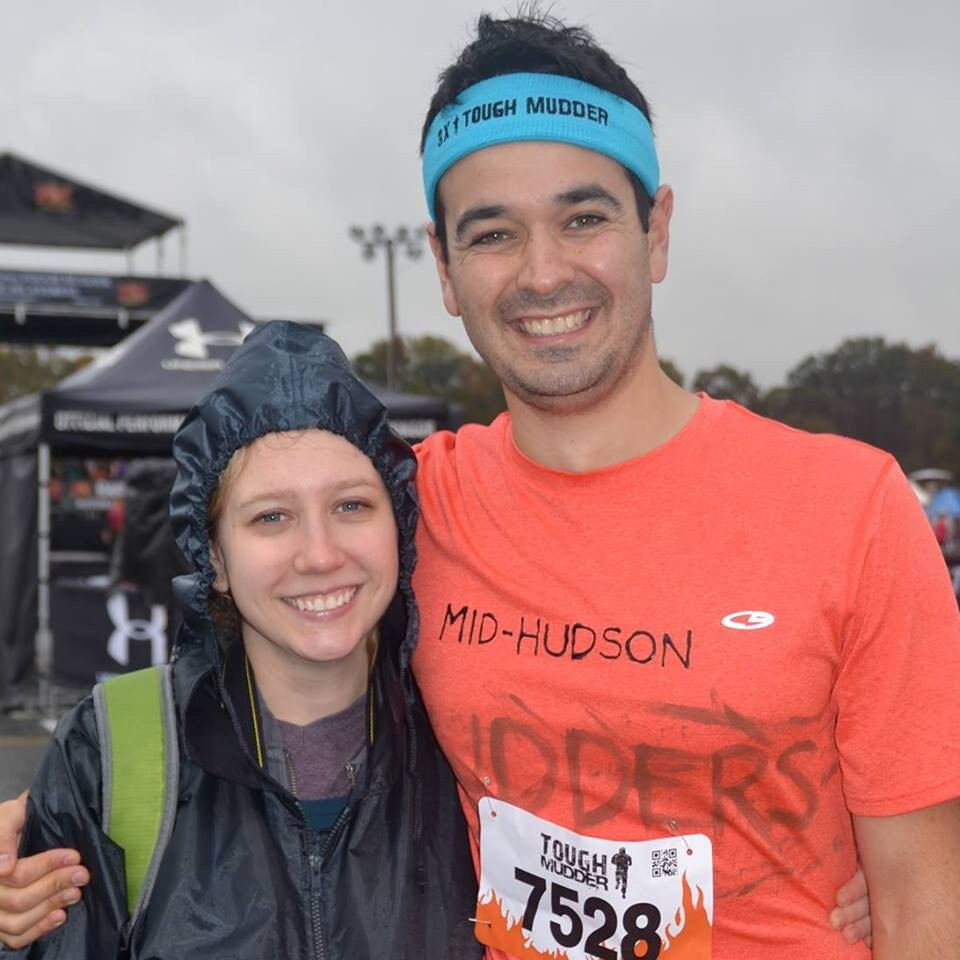 BEFORE A TOUGH MUDDER OBSTACLE COURSE