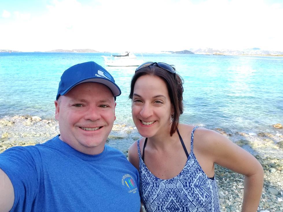 BEACH DAY IN ST. JOHN VIRGIN ISLANDS