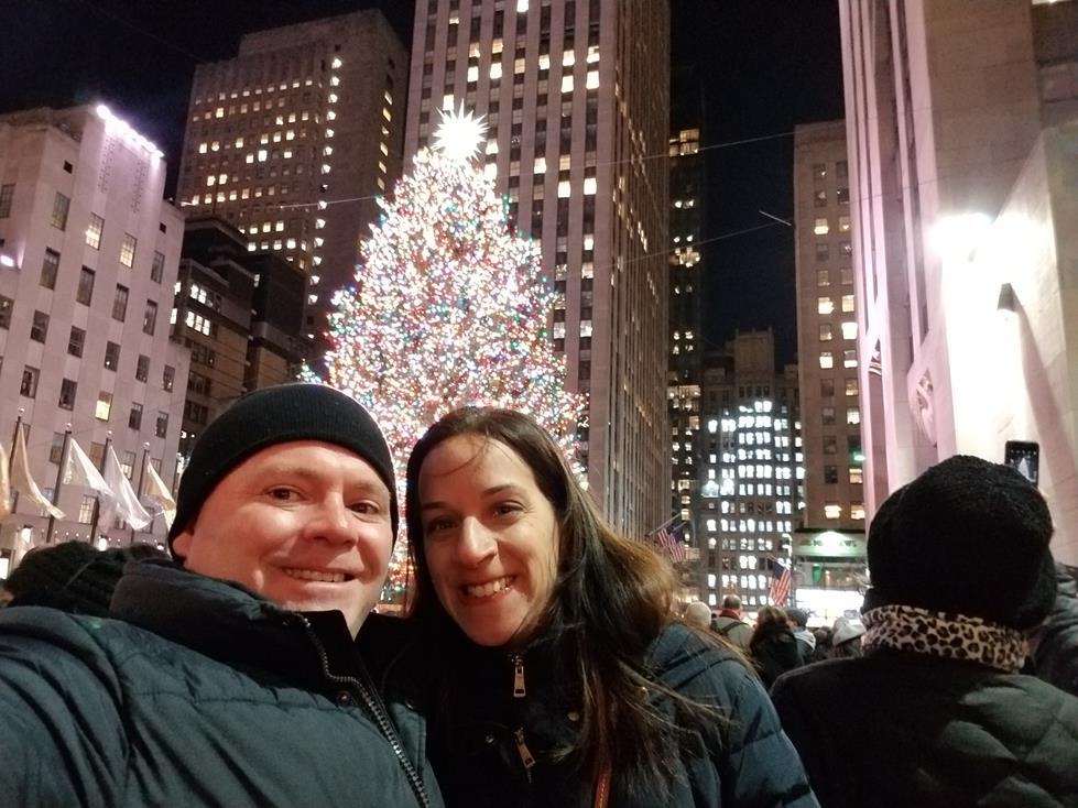 SEEING THE TREE AT ROCKEFELLER CENTER