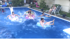 ANNUAL FAMILY POOL RACES