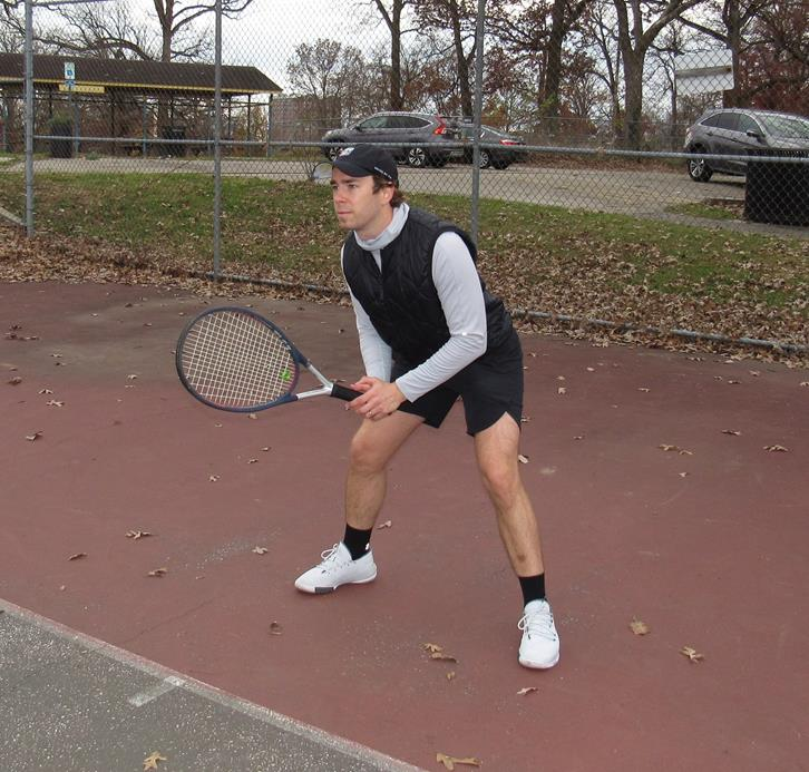 TENNIS AT THE PARK