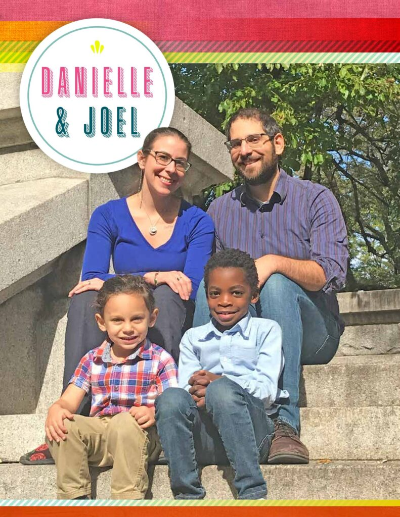 Joel, Danielle, Jude & Levi from New York