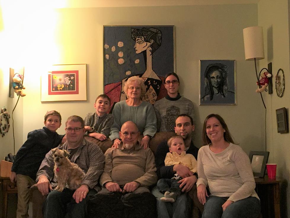CHRISTMAS WITH IAN'S FAMILY