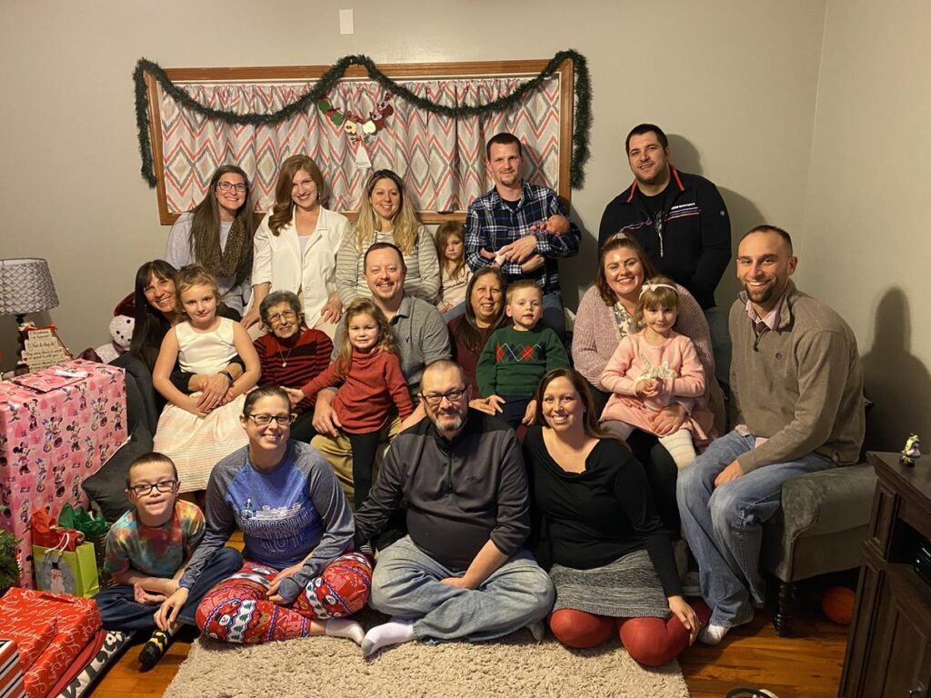 CHRISTMAS WITH NICOLE'S FAMILY