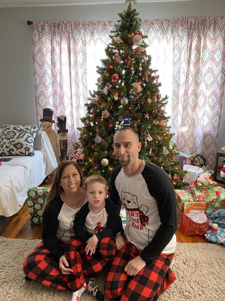 MATCHING CHRISTMAS PJ'S