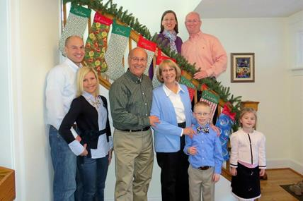 CELEBRATING CHRISTMAS WITH NATE'S FAMILY