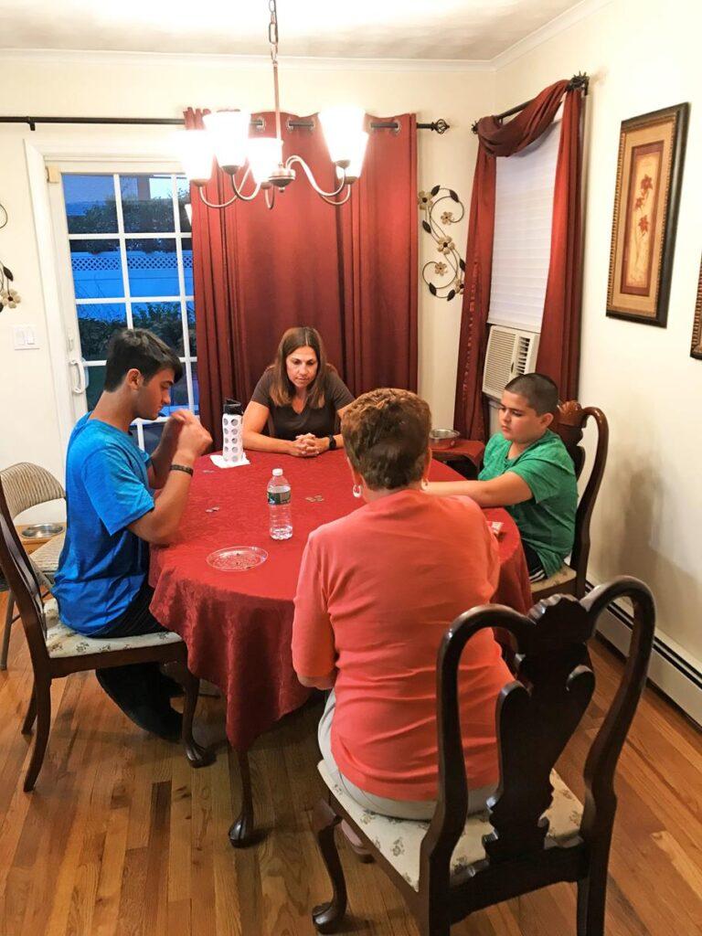 GAME NIGHT WITH DINA'S MOM AND NEPHEWS
