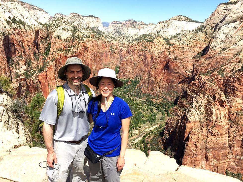 Hiking Angel's Landing in Zion National Park