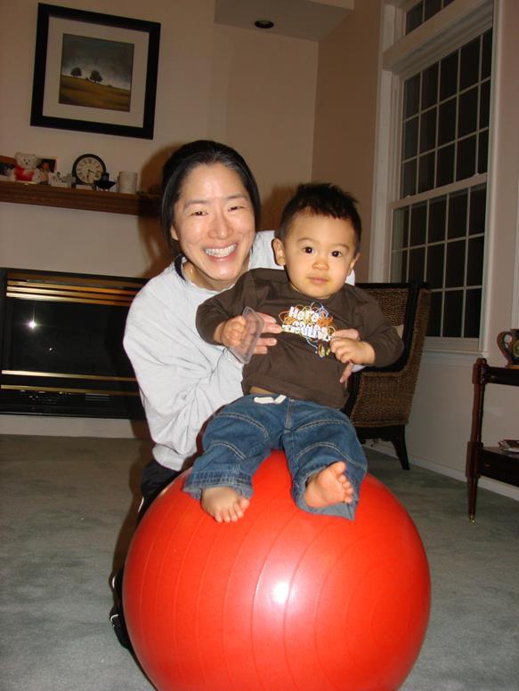 June with her nephew