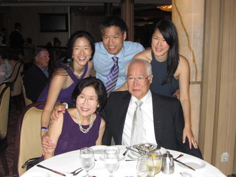 June celebrating parent's 50th anniversary