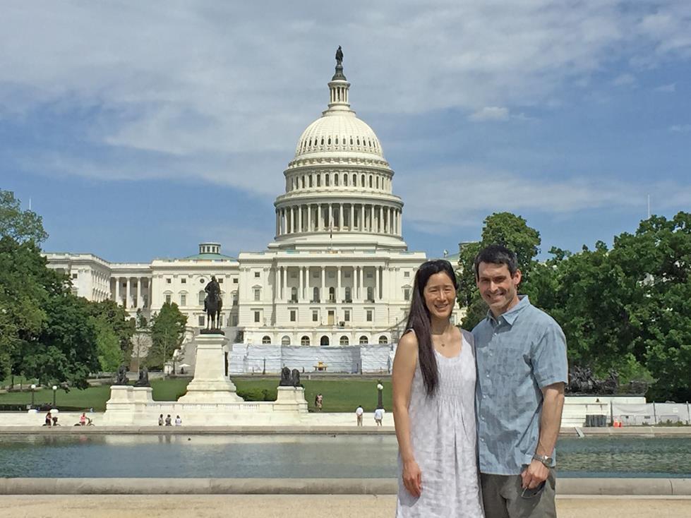 Sightseeing in Washington, DC
