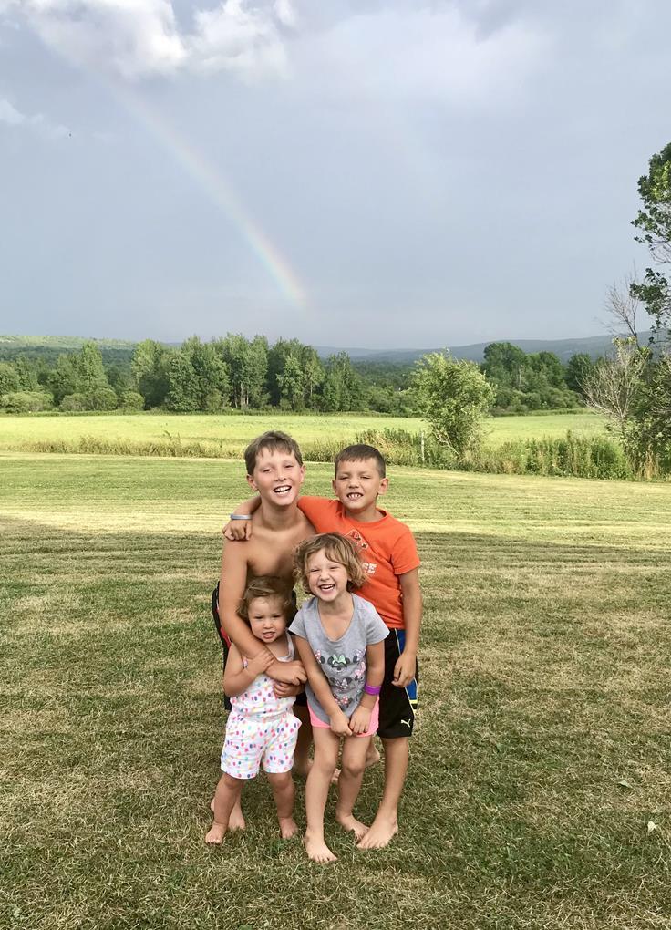 KIDS UNDER A RAINBOW