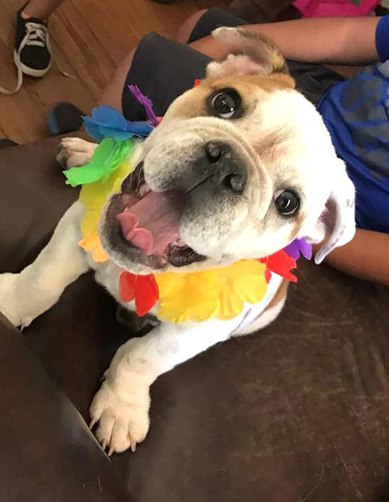 Buster loves kids!