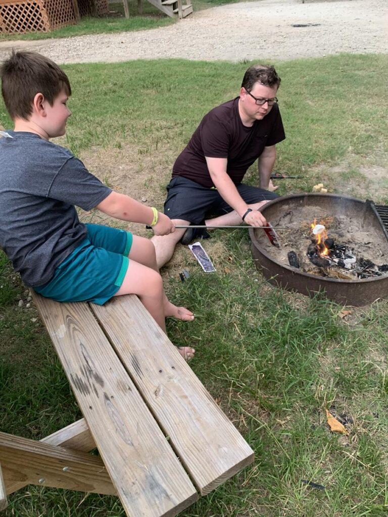 Camping with John Wayne