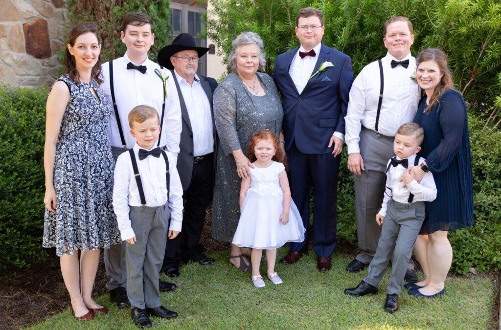 Lance's family