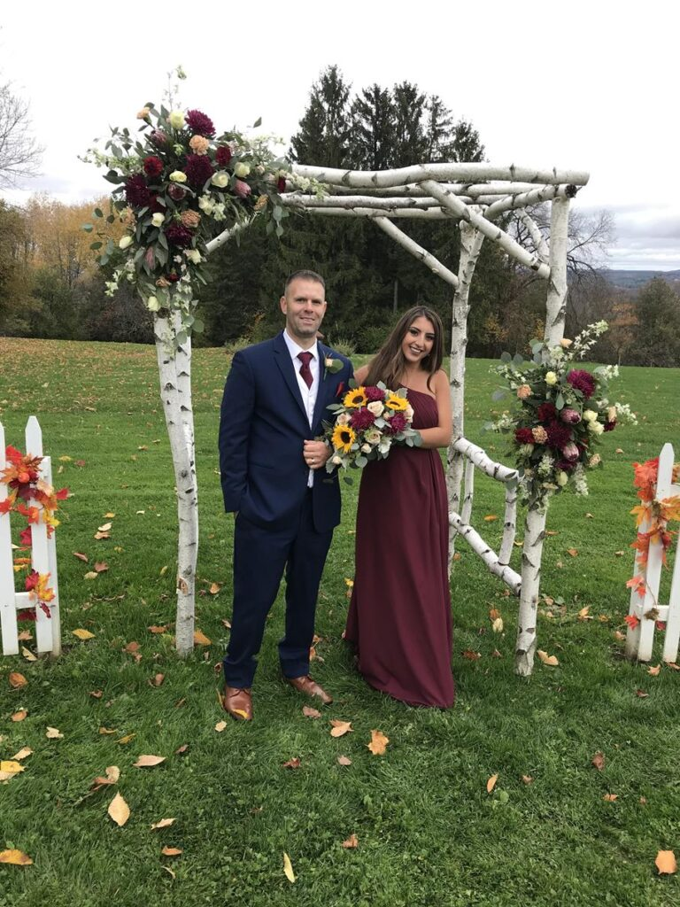 Michael's sister's wedding