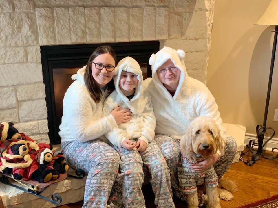 Our tradition of Christmas PJs