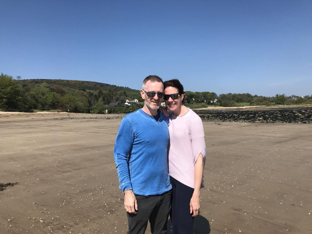 WALKING THE BEACHES IN DONEGAL