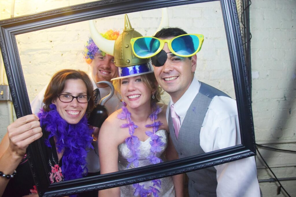 PHOTOBOOTH FUN AT OUR WEDDING