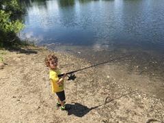 FISHING AT A LOCAL PARK