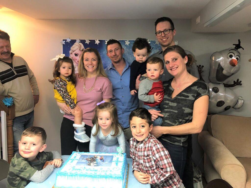 CELEBRATING LAYLA'S BIRTHDAY WITH FAMILY