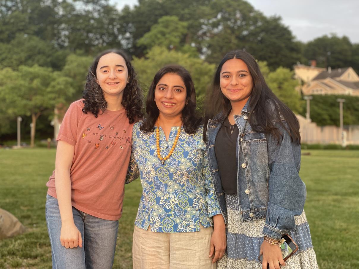 GIRL POWER! VANDANA AND HER FRIEND'S DAUGHTERS